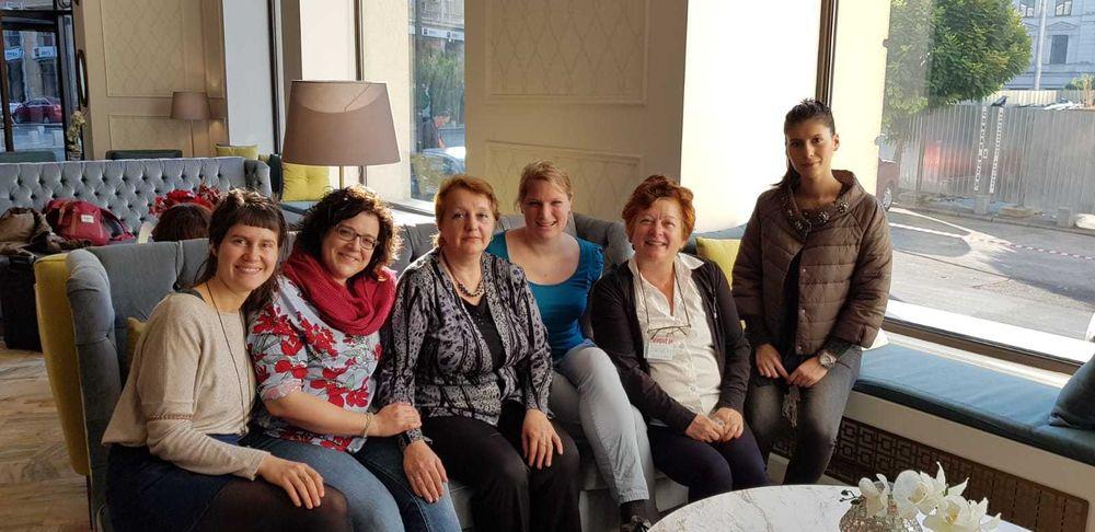 Frauen treffen in rumänien